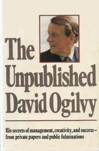 Textos no publicados de Ogilvy. Una joya